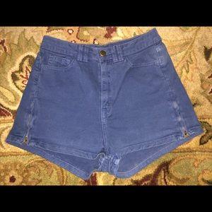 American Apparel Shorts w/Zippers